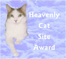 Heavenly CatSite Award!